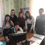 В преддверии Дня местного самоуправления школьники посетили Администрацию Долгомостовского сельсовета